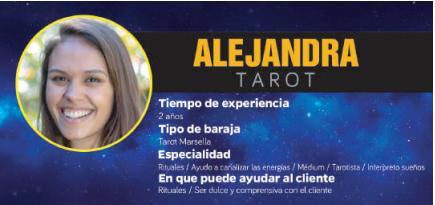 Alejandra, te enseñará cómo sacar lo mejor de ti