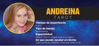 Encuentra tu camino espiritual con Andreina tarot y las videntes buenas y tarotistas recomendadas no presenciales en Barcelona
