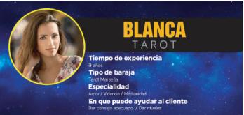 Blanca, una maestra de los sigilos mágicos, por ello, es una vidente real, completa y buena de verdad