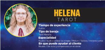 ¿Quieres lograr que tus metas se cumplan? Helena tiene lo que se necesita para ayudarte, videntes y tarotistas en Zaragoza como ellas no hallarás. ¡Es un tarot recomendado sí o no!