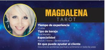 Magdalena es otra de nuestras grandes videntes buenas y acertadas