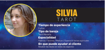 Silvia es la guía espiritual más reconocida entre todas las videntes y tarotistas en Valencia